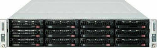 Supermicro SuperServer CSE-827 12-Bay 2-Node Server X9DRT-HF CTO No CPU/RAM